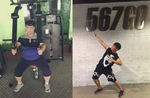260斤大胖子成为健身型男