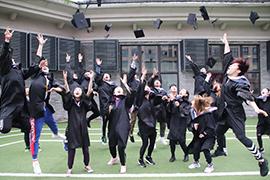 恭喜567GO学子顺利毕业 祝你们未来可期