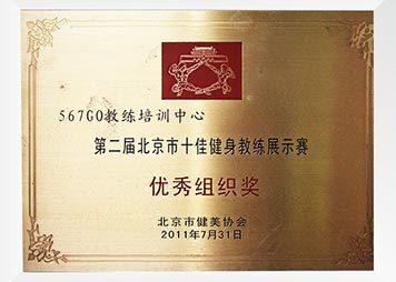 第二届北京市十佳健身教练展示赛