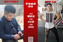 健身真人秀 567GO学员肌肉猛男蜕变对比照